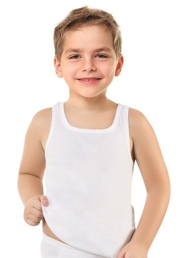 Luxxa Erkek Çocuk Tekli Atlet Beyaz